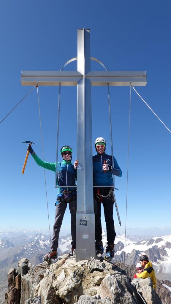 Junge Alpinisten Förderung wildspitze